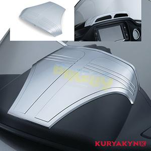 쿠리야킨 할리 튜닝 부품 투어링 (15-19) Road Glide Tri-Line Top Dash Accent, Chrome 이너 페어링 6962