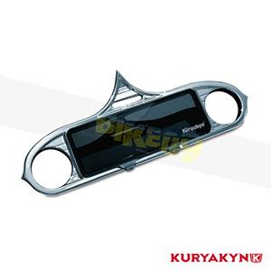 쿠리야킨 할리 튜닝 부품 투어링 (96-13) Stereo Accent, Chrome 이너 페어링 3765
