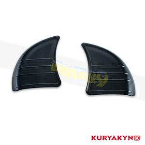 쿠리야킨 할리 튜닝 부품 투어링 (14-19) Tri-Line Inner Fairing Cover Plates, Gloss Black 이너 페어링 6979