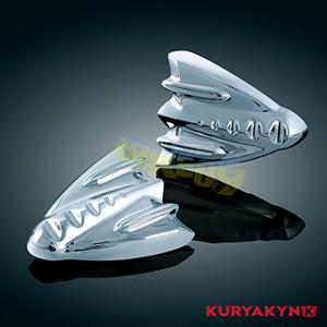 쿠리야킨 할리 튜닝 부품 투어링 (06-13) Inner Fairing Cover Plates, Chrome 이너 페어링 3767