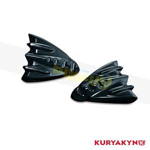 쿠리야킨 할리 튜닝 부품 투어링 (06-13) Inner Fairing Cover Plates, Gloss Black 이너 페어링 7210