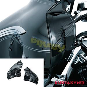 쿠리야킨 할리 튜닝 부품 Trikie (09-13) Inner Fairing Covers, Gloss Black 이너 페어링 7267