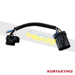 쿠리야킨 할리 튜닝 부품 투어링 (14-19) Headlamp Adapter Harness, Black 헤드라이트 안개등 5487