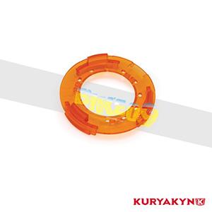 쿠리야킨 할리 튜닝 부품 할리범용 Replacement Amber Snap Ring for Bullet Style L.E.D. Turn Signals, Amber LED 테일라이트 깜빡이 5616
