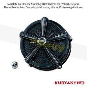쿠리야킨 할리 튜닝 부품 할리범용 Mach 2™ Air Cleaner, Gloss Black 에어크리너 9550