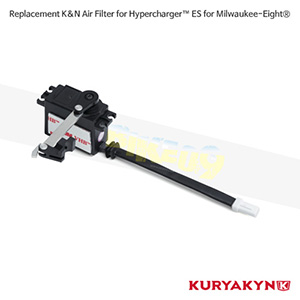 쿠리야킨 할리 튜닝 부품 할리범용 Replacement K&N Air Filter for Hypercharger™ ES for Milwaukee-Eight® 에어크리너 9372