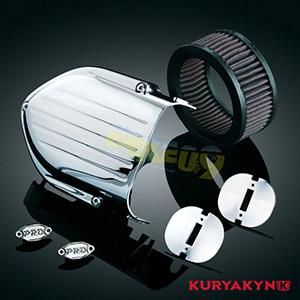 쿠리야킨 할리 튜닝 부품 할리범용 Pro-Series Hypercharger™ Upgrade, Chrome 에어크리너 9310