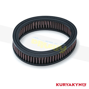 쿠리야킨 할리 튜닝 부품 할리범용 Replacement Air Filter Element for Crusher® Maverick Pro Air Cleaner 에어크리너 9612