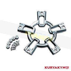 쿠리야킨 할리 튜닝 부품 할리범용 Co-Ax Update Kit, Chrome 에어크리너 9547