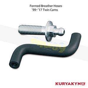 쿠리야킨 할리 튜닝 부품 소프테일 (99-17) Formed Breather Hoses 에어크리너 9977