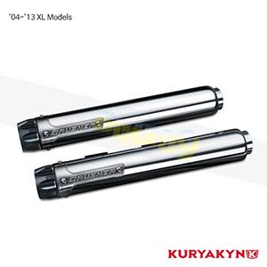 쿠리야킨 할리 튜닝 부품 스포스터 (04-13) XL Models Crusher® Maverick Slip-Ons, Chrome 머플러 615