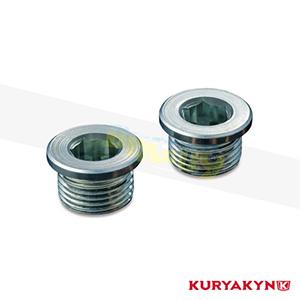 쿠리야킨 할리 튜닝 부품 할리범용 18mm O2 Sensor Bung Plugs, Raw 머플러 509