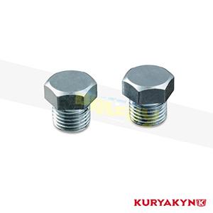 쿠리야킨 할리 튜닝 부품 할리범용 12mm O2 Sensor Bung Plugs, Raw 머플러 540