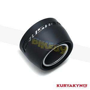 """쿠리야킨 할리 튜닝 부품 할리범용 Replacement Black Tip for Marksman™ 4"""" Touring Mufflers, Matte Black 머플러 630"""