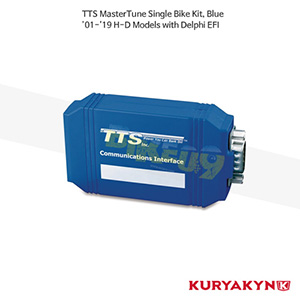 쿠리야킨 할리 튜닝 부품 할리범용 (01-19) TTS MasterTune Single Bike Kit, Blue 연료조절기 9225