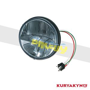 쿠리야킨 할리 튜닝 부품 소프테일 FL (91-17) D.O.T. Compliant Phase 7 L.E.D. Headlamps 헤드라이트 안개등 2249
