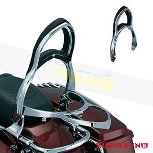 쿠리야킨 할리 튜닝 부품 할리범용 Transformer™ Backrest, Chrome 시트 브라켓 1606