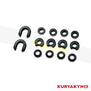 쿠리야킨 할리 튜닝 부품 할리범용 Service Kit for Quick Release Side Plates 시트 브라켓 1630