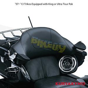 쿠리야킨 할리 튜닝 부품 Trikie (97-13) Stealth Passenger Armrests, Chrome 팔걸이 8958