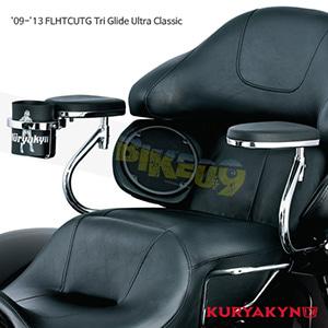 쿠리야킨 할리 튜닝 부품 Trikie (09-13) Passenger Armrests, Chrome 팔걸이 8959