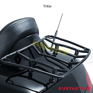 쿠리야킨 할리 튜닝 부품 Trikie Multi-Rack Adjustable Trunk Luggage Rack, Gloss Black 러거지 랙 7149