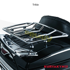 쿠리야킨 할리 튜닝 부품 Trikie Multi-Rack Adjustable Trunk Luggage Rack, Chrome 러거지 랙 7159