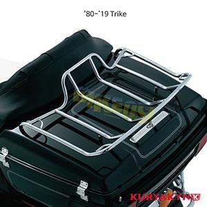 쿠리야킨 할리 튜닝 부품 Trikie (80-19) Luggage Rack for Tour-Pak®, Chrome 러거지 랙 7139