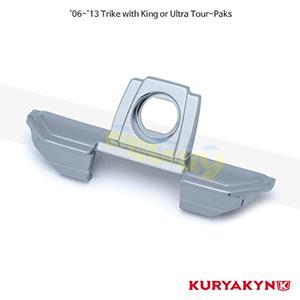 쿠리야킨 할리 튜닝 부품 Trikie (06-13) Tour-Pak® Lid Grip, Chrome 러거지 랙 7160