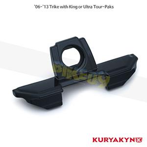 쿠리야킨 할리 튜닝 부품 Trikie (06-13) Tour-Pak® Lid Grip, Gloss Black 러거지 랙 7161