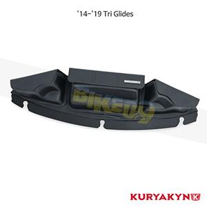 쿠리야킨 할리 튜닝 부품 Trikie (14-19) Batwing Fairing Pouch Bag, Black 가방 핸들백 5261
