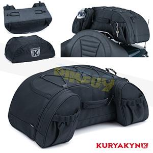쿠리야킨 할리 튜닝 부품 할리범용 Momentum Hitchhiker Trunk Rack Bag, Black 가방 핸들백 5281