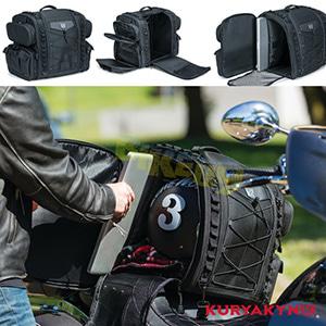 쿠리야킨 할리 튜닝 부품 할리범용 Momentum Road Warrior Bag, Black 가방 핸들백 5284