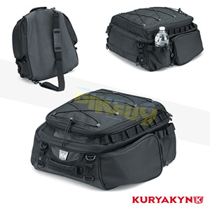 쿠리야킨 할리 튜닝 부품 할리범용 Momentum Roamer Tail Bag, Black 가방 핸들백 5214