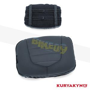 쿠리야킨 할리 튜닝 부품 할리범용 Removable Luggage Backrest Pad, Black 가방 핸들백 5299