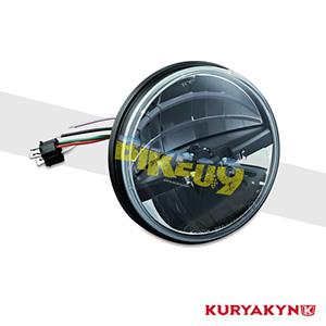 쿠리야킨 할리 튜닝 부품 투어링 (94-17) ECE Compliant Phase 7 L.E.D. Headlamps, Left Drive 헤드라이트 안개등 2245