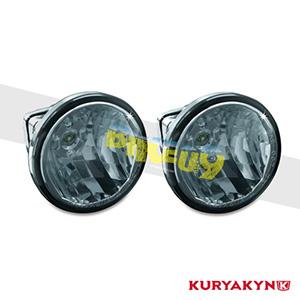 """쿠리야킨 할리 튜닝 부품 할리범용 3"""" L.E.D. Upgrade Lamps for Driving Lights, White 헤드라이트 안개등 5035"""