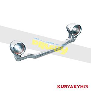 쿠리야킨 할리 튜닝 부품 할리범용 Driving Light Bar, Chrome 헤드라이트 안개등 4001