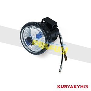 """쿠리야킨 할리 튜닝 부품 할리범용 Replacement 3"""" Halogen Lamp for Kuryakyn 5000 Series Driving Lights, White 헤드라이트 안개등 5083"""
