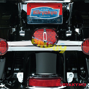 쿠리야킨 할리 튜닝 부품 다이나 (01-11) Deluxe Panacea Taillight, Red with License Plate Illumination 테일라이트 5420