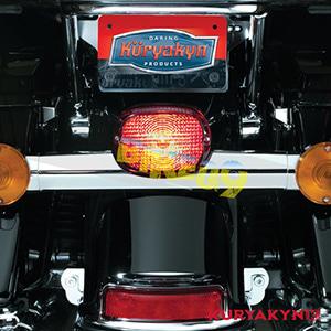 쿠리야킨 할리 튜닝 부품 스포스터 (02-13) Deluxe Panacea Taillight, Red with License Plate Illumination 테일라이트 5420