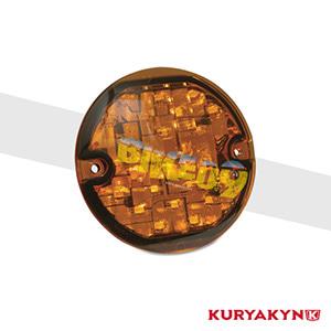 쿠리야킨 할리 튜닝 부품 투어링 (94-19) L.E.D. Front Turn Signal Inserts, Flat Style with Amber Lenses, Dual Circuit 테일라이트/LED 테일라이트 깜빡이 5440