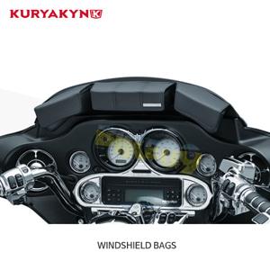쿠리야킨 할리 오토바이 가방 Fairing Bag for 투어링&트라이크 (96-13) Black WINDSHIELD BAGS 5212