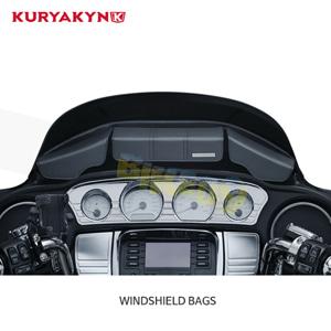 쿠리야킨 할리 오토바이 가방 Batwing Fairing 파우치백 for 투어링&트리글라이드 (14-20) Black WINDSHIELD BAGS 5261