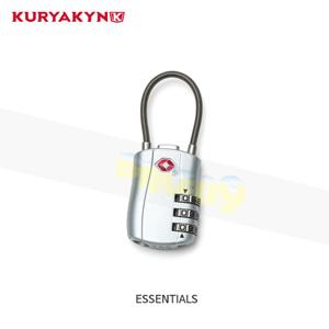 쿠리야킨 할리 오토바이 가방 TSA Approved 케이블 Lock ESSENTIALS 5850