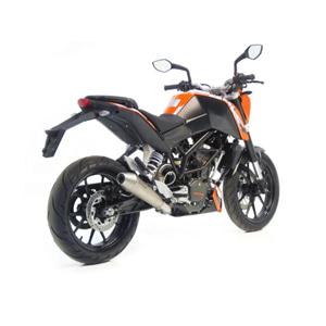레오빈스 KTM 듀크200 슬립온 GP 스타일 이녹스 티타늄 이녹스 (12-14) 오토바이 머플러