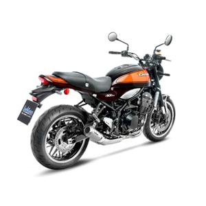 레오빈스 가와사키 Z900RS/CAFE 슬립온 LV10 이녹스 티타늄 이녹스 (18+) 오토바이 머플러