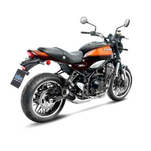 레오빈스 가와사키 Z900RS/CAFE 슬립온 LV10 BLACK 이녹스 매트 이녹스 (18+) 오토바이 머플러