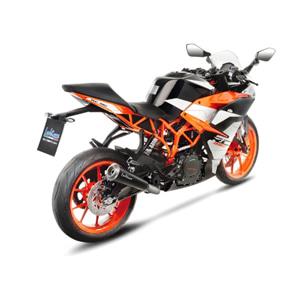 레오빈스 KTM RC390 슬립온 GP ONE 이녹스 매트 이녹스 (17-18) 오토바이 머플러