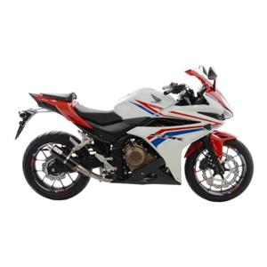 레오빈스 혼다 CBR400R TERMINALE 슬립온 GP CORSA 카본 (16) 오토바이 머플러