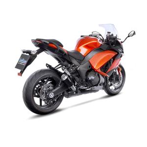 레오빈스 가와사키 Z1000SX 2 슬립온 LV10 BLACK 이녹스 매트 이녹스 (17-18) 오토바이 머플러